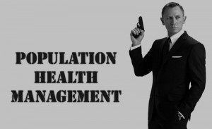 Writing on the wall population health management