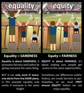 Equity vs Equality
